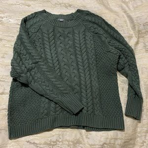 Aerie cable knit sweater - Medium
